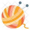 Yarn Yarn Ball Crafting Icon