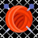 Yarn Cloth Ball Icon