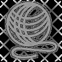 Adorable Toy Ball Icon