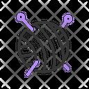 Yarn & Needle Icon