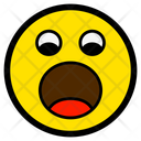 Yawn Sad Shock Icon