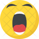Yawn Face Icon