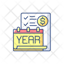 Year End Closing Procedure Icon