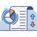 Yearly Sales Report Sales Report Analysis Icon