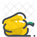 Yellow capsicum Icon