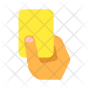 Soccer Yellow Card Icon