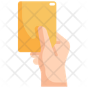Yellow Card Soccer Icon