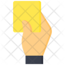Yellow Card Penalty Card Penalty Icon