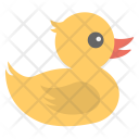Cute Duckling Baby Icon