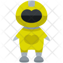 Yellow Ranger Man Icon