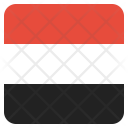 Yemen National Country Icon