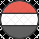 Yemen Asian Country Icon