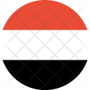 Yemen Flag World Icon