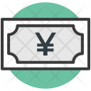 Yen Note Currency Icon