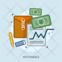 Yen Paper Business Icon