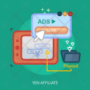 Yen Affiliate Payout Icon