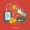 Yen Asset Credit Icon