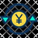 Yen Currency Money Exchange Icon