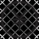 Yen Money Yen Coin Icon