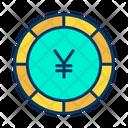 Yen Yen Coin Coin Icon