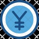 Yen Jpy Commerce Icon