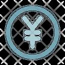 Coin Money Yen Icon