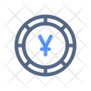 Yen Coin Money Icon