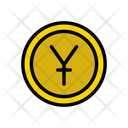 Yen Currency Coins Icon
