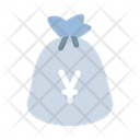 Yen Money Sack Icon