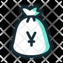Yen Money Sack Icon