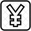 Business Financial Yen Icon