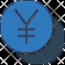 Yen Coins Invest Icon