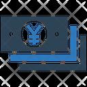 Yen Money Cash Icon