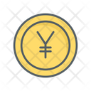 Yen Currency Coin Icon