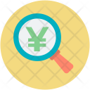 Yen Currency Zoom Icon