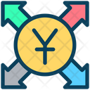 Yen Send Payment Icon