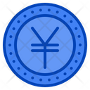 Yen Currency Money Exchange Coin Japanese Japan Icon