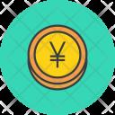 Yen Yuan Coin Icon