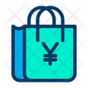 Yen Bag Cart Icon