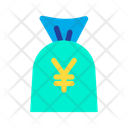 Money Bag Yen Bag Icon