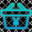 Yen Basket Icon