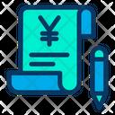 Yen Bill Icon