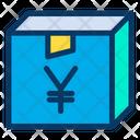 Yen Package Box Icon