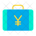 Yen Briefcase Yen Suitcase Money Briefcase Icon