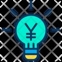 Business Idea Business Marketing Idea Ligtht Bulb Icon