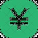 Yen Button Square Yen Yuan Icon