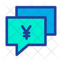 Chat Bubble Yen Chat Business Chatting Icon