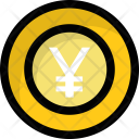 Yen Coin Money Icon