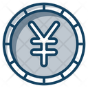 Yen Coins Currency Coin Icon