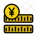 Yen Coins Currency Icon